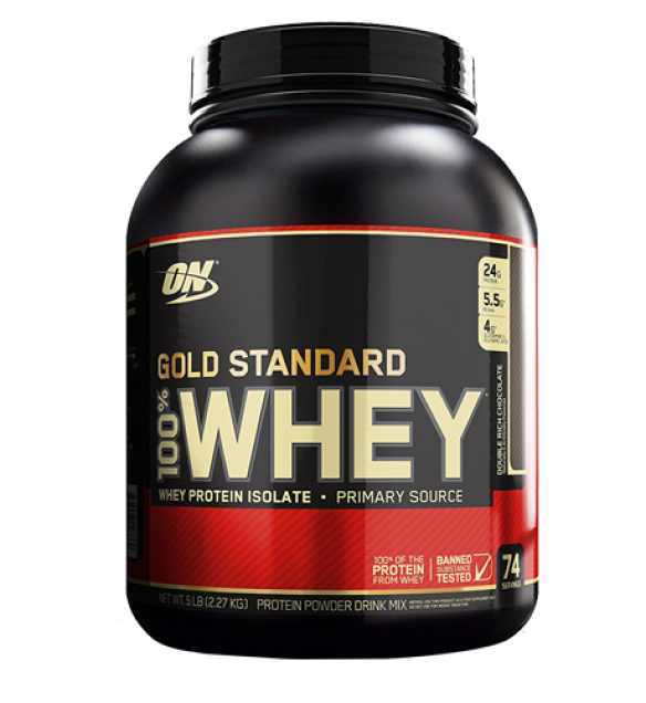 Protein GOLD STANDARD 100 WHEY DOUBLE RICH CHOCOLATE 5lbs gsw double rich choco 5lbs