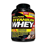 100 PURE TITANIUM WHEY CHOCOLATE ROCKY ROAD 5lbs