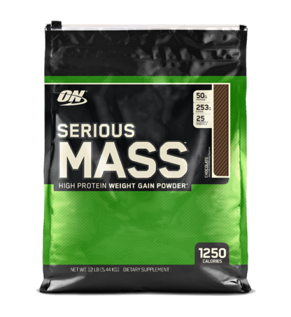Protein SERIOUS MASS CHOCOLATE 12 lbs serious mass chocolate 12lbs